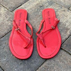 Shoes - White House Black Market flip flops